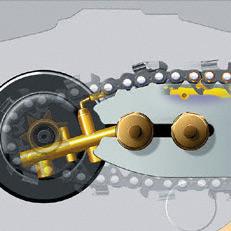Stihl láncfűrész Ematic lánckenő rendszere