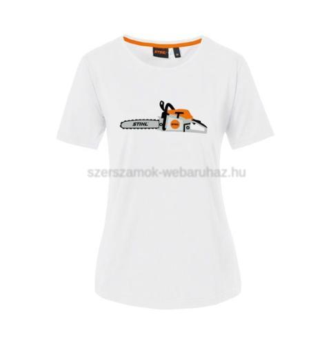 Stihl Chainsaw női póló fehér